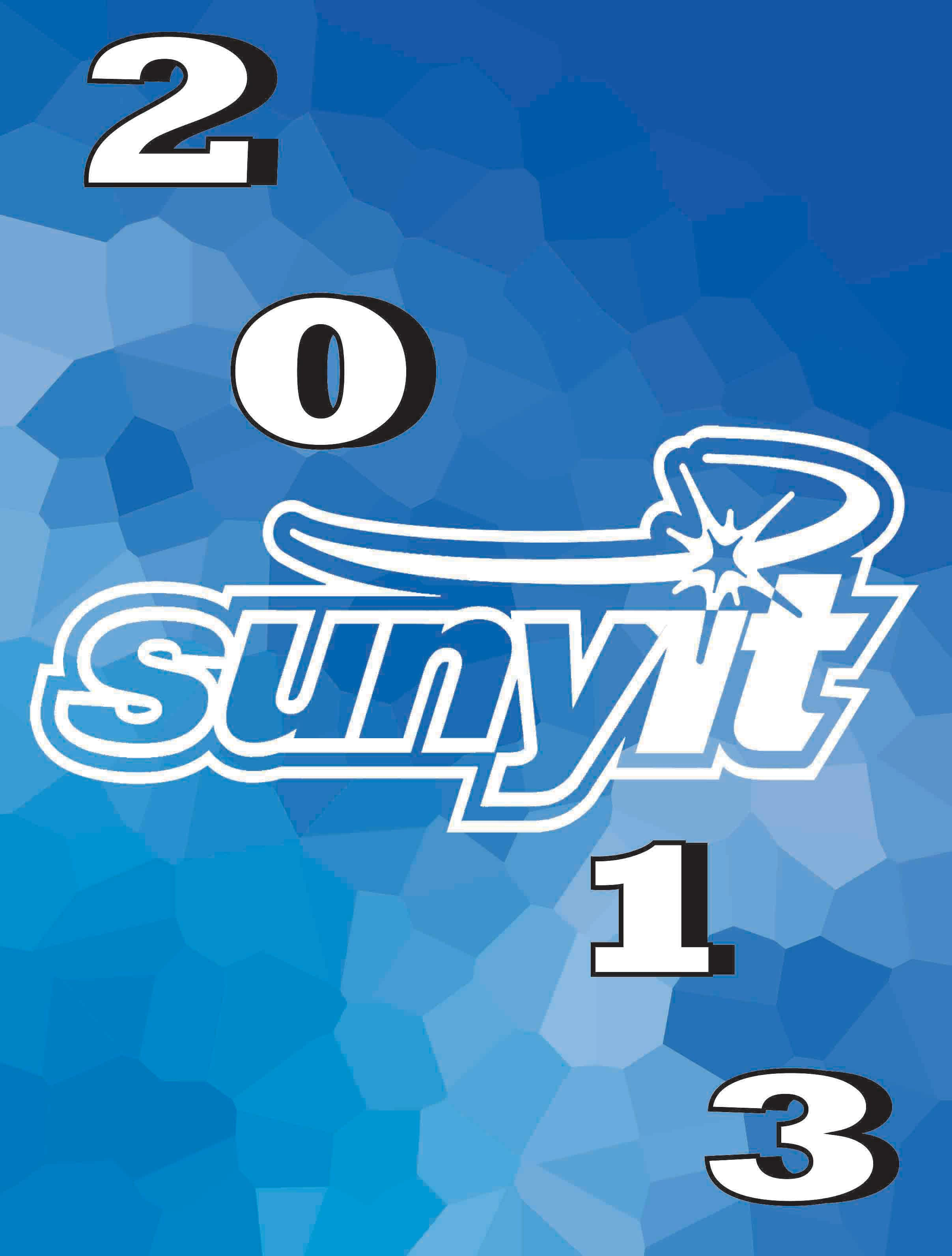 2013 SUNYIT Yearbook